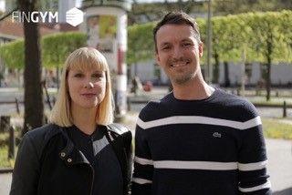 Franziska Luh und Thorsten Stoll, Gründer von FinGym, dem Programm zur finanziellen Fitness